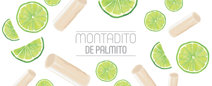 Montaditos de Verano. Version Palmito